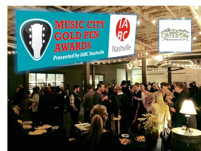 Best Business Communication Work to be Honored at IABC Nashville 2016 Music City Gold Pen Awards