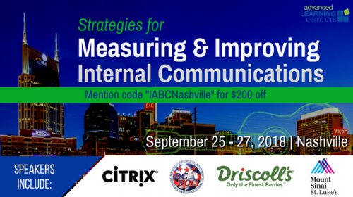 Strategies for Measuring & Improving Internal Communications